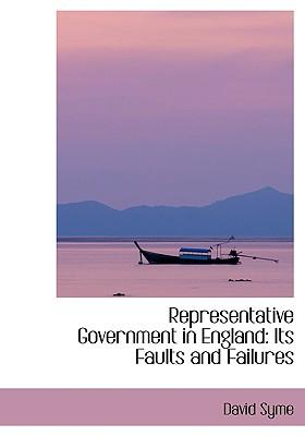 Representative Government in England