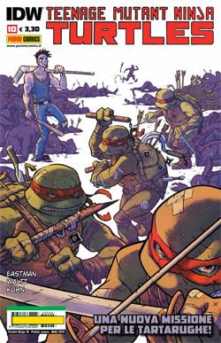 Teenage Mutant Ninja Turtles n. 10