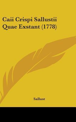 Caii Crispi Sallustii Quae Exstant (1778)