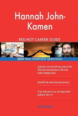 Hannah John-kamen Red-hot Career Guide