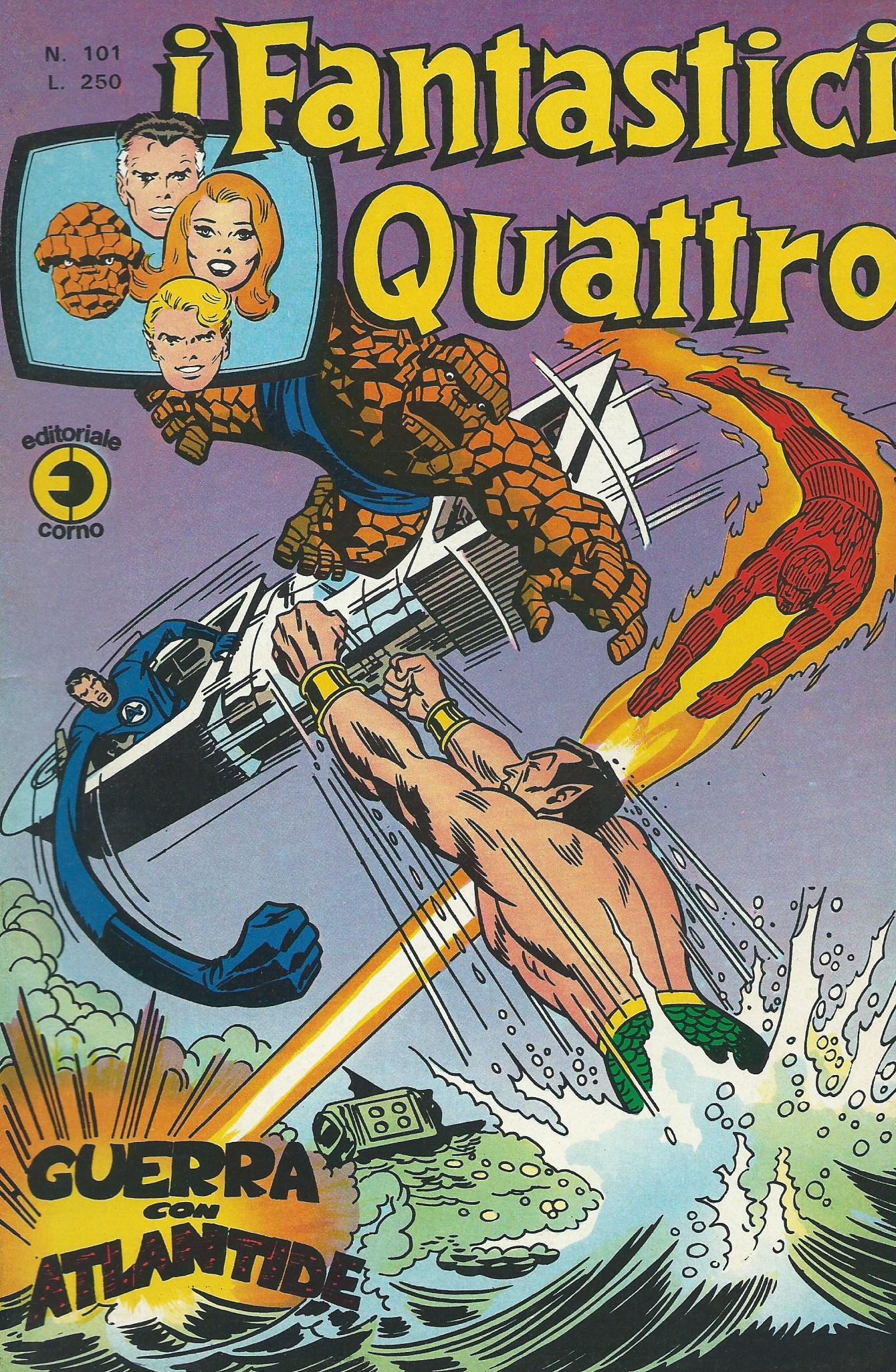 I Fantastici Quattro n. 101