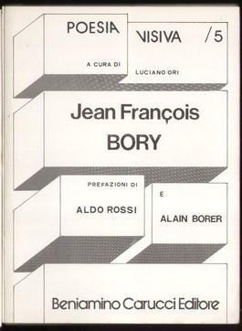 Jean François Bory - Poesia visiva