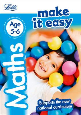 Maths Age 5-6 (Letts...