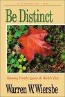Be Distinct