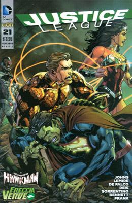 Justice League n. 21