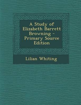 A Study of Elizabeth...