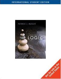 A Concise Introduction to Logic, International Edition
