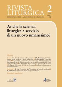 Anche la scienza liturgica a servizio di un nuovo umanesimo?