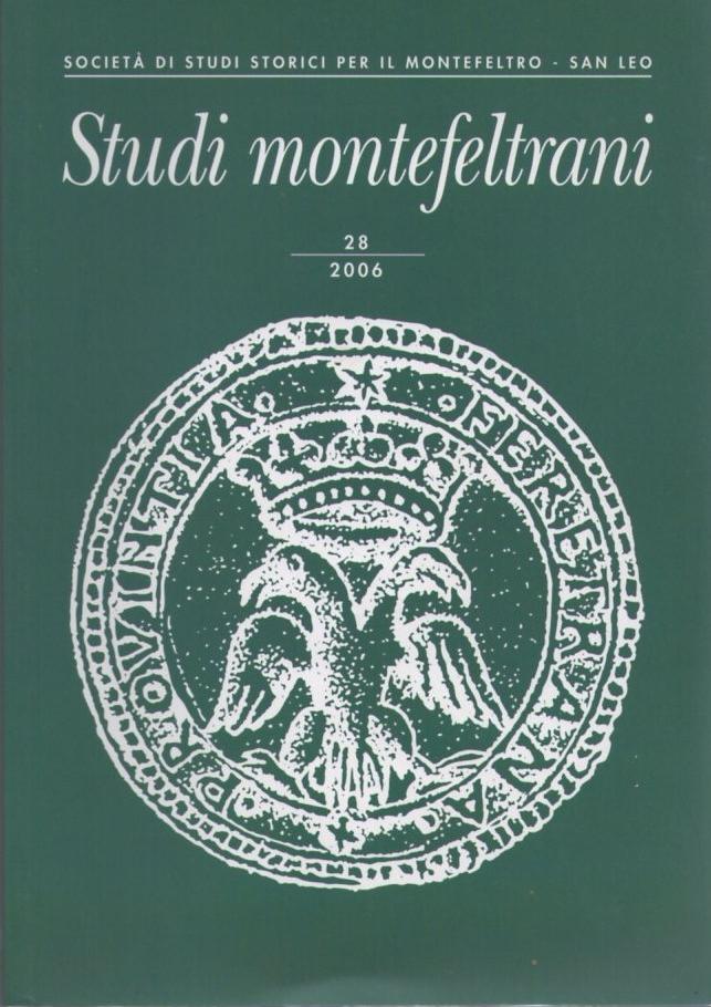 Studi Montefeltrani 28/2006