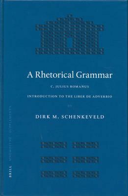 A Rhetorical Grammar