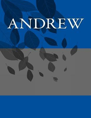 Andrew Write in Book