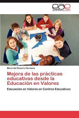 Mejora de las prácticas educativas desde la Educación en Valores