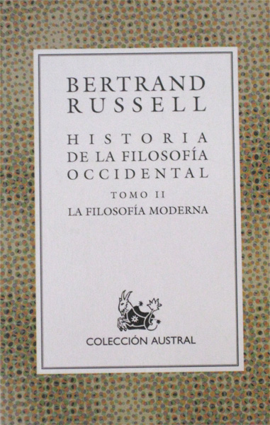 Historia de La Filosofia Occidental. Tomo II