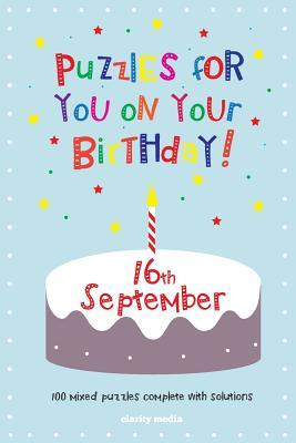 Puzzles for You on Your Birthday, 16th September