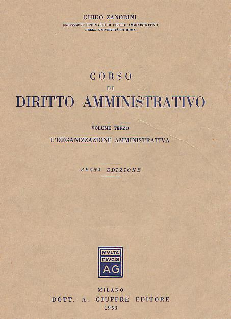 Corso di Diritto amministrativo vol.3