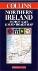 Northern Ireland Motorways and Main Roads Map