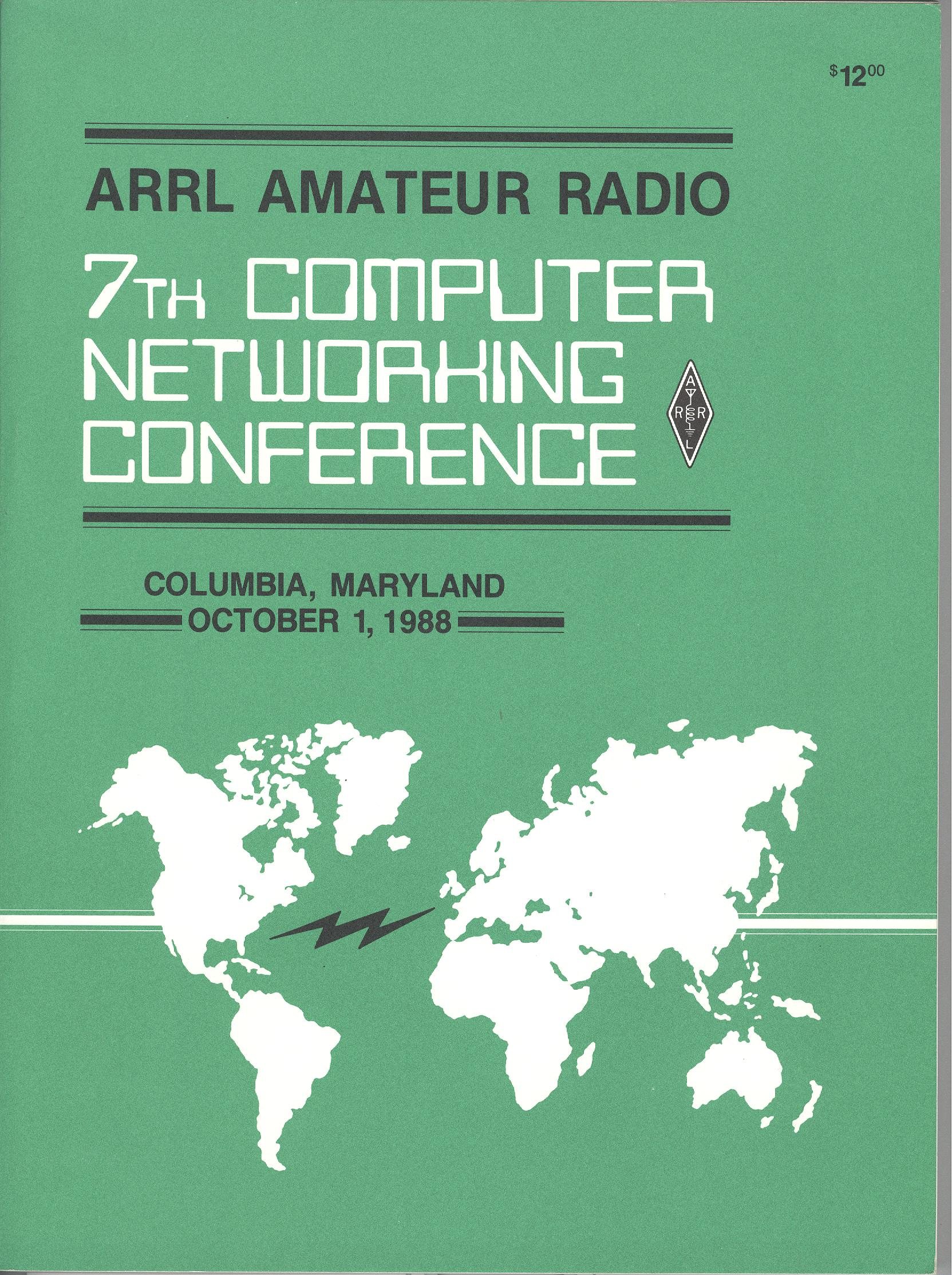ARRL Amateur Radio 7th Computer Networking Conference