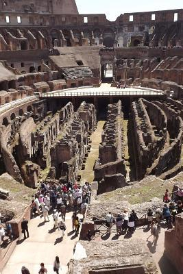 Inside the Roman Colosseum in Rome, Italy Journal