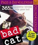 Bad Cat Page-a-Day Calendar 2006