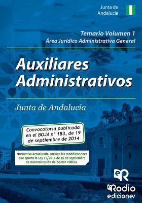 Auxiliares Administrativos de la Junta de Andalucía. Área Jurídico Administrativa General