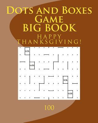 Dots and Boxes Game Big Book