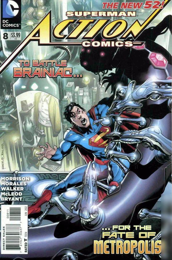 Action Comics Vol.2 #8