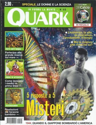 Quark: Il piacere di saperlo n. 40