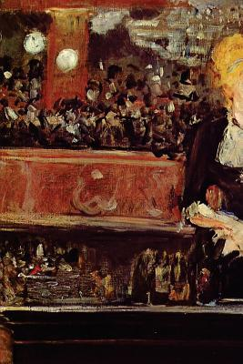 Study for Bar at the Folies Bergere by Edouard Manet - 1882 Journal
