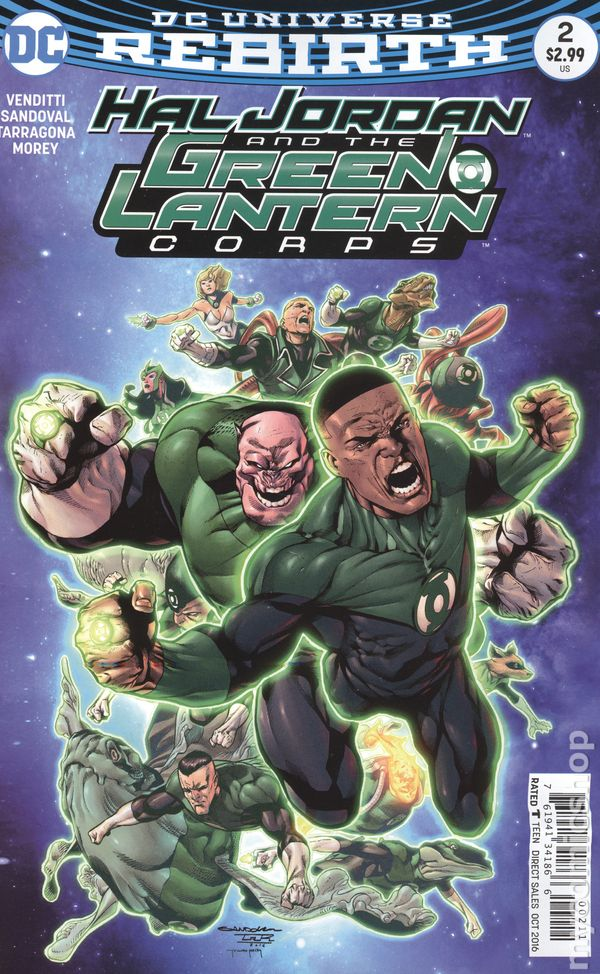 Hal Jordan and the G...