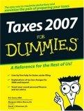 Taxes 2007 For Dummi...