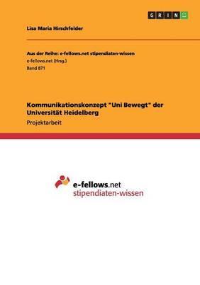 Kommunikationskonzept Uni Bewegt der Universität Heidelberg