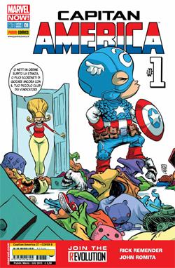 Capitan America #1 M...