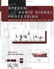 Speech and Audio Signal Processing