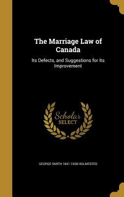 MARRIAGE LAW OF CANADA