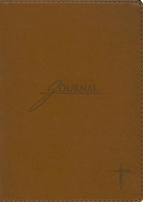 Brown With Cross Journal