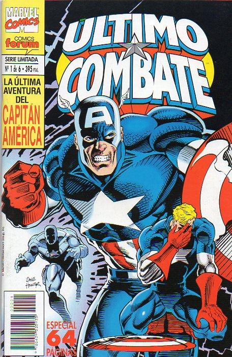 Capitán América: Último combate #1 (de 6)