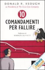 I dieci comandamenti per fallire