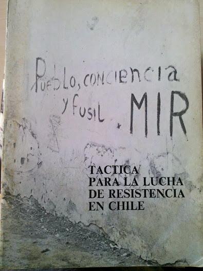 Táctica para la lucha de resistencia en Chile