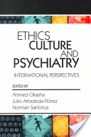 Ethics, Culture, and Psychiatry