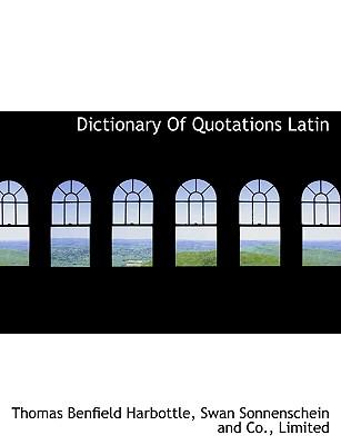 Dictionary Of Quotat...