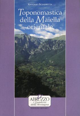 Toponomastica della Maiella orientale