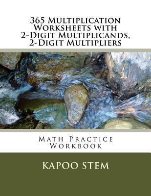 365 Multiplication Worksheets With 2-digit Multiplicands, 2-digit Multipliers