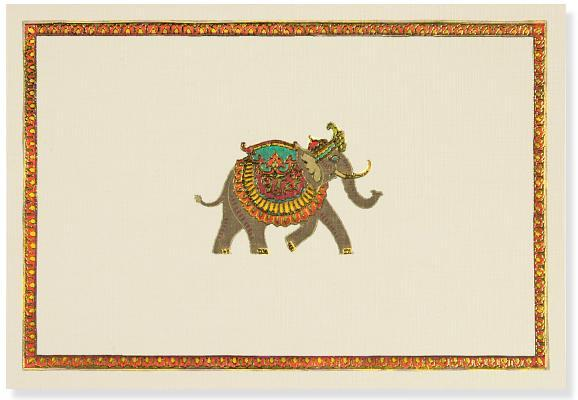 Elephant Festival Note Cards