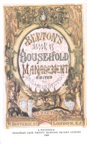 The Book of Household Management ...