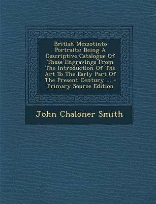 British Mezzotinto Portraits
