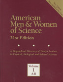 American Men and Women of Science: A-B