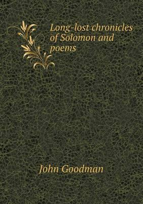 Long-Lost Chronicles of Solomon and Poems