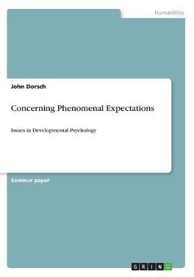 Concerning Phenomenal Expectations