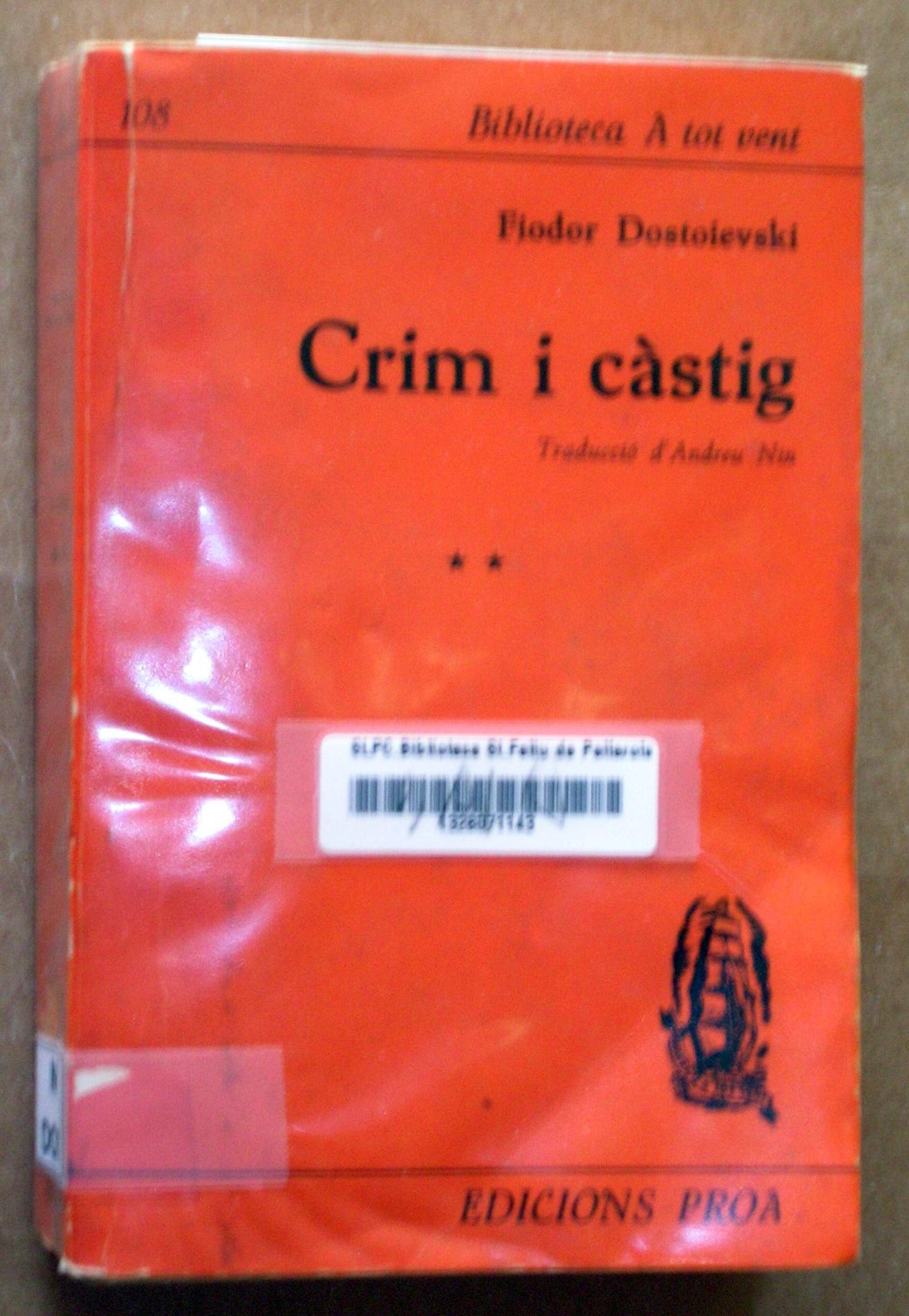 Crim i càstig