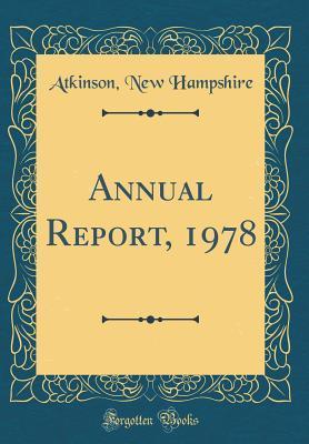 Annual Report, 1978 ...